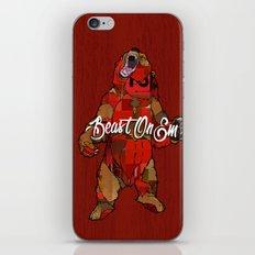 Beast On Em iPhone & iPod Skin