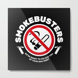 Smokebusters Metal Print