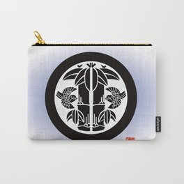 Bamboo and sparrow Carry-All Pouch