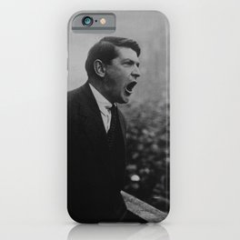 Michael Collins Speaking To A Dublin Crowd - 1922 iPhone Case