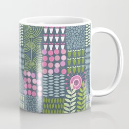 Golden Thyme and Silver Mint Coffee Mug