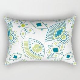 Ethnic pattern . Eye 2 . Rectangular Pillow