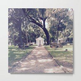 Saint Augustine Cemetery Metal Print