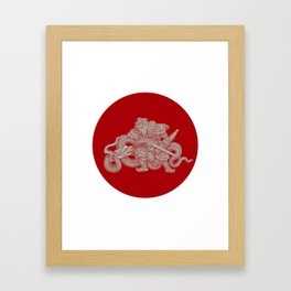 Warrior II Framed Art Print