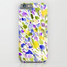 Wild Nature (Yellow and Blue) iPhone 6s Slim Case