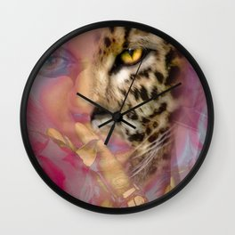 Eaten Alive by John Logan Wall Clock