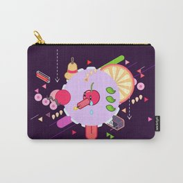 Tasty Visuals - Cherry Poppin' (No Grid) Carry-All Pouch