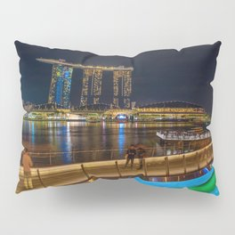 Singapore Jubilee bridge Pillow Sham