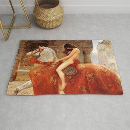 John Maler Collier's Lady Godiva Rug