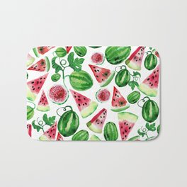 Wild watermelon Bath Mat