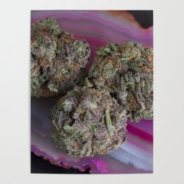 Grape Ape Medicinal Medical Marijuana Poster