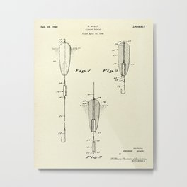 Fishing Tackle-1950 Metal Print