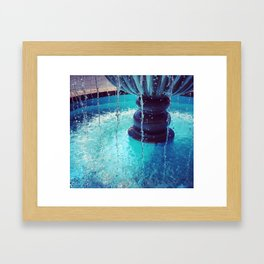 Summer Blues Framed Art Print