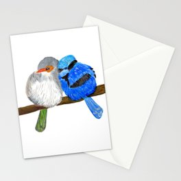 Fairy Wrens love Stationery Cards