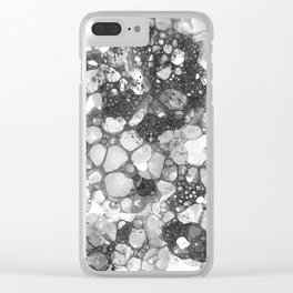 Ink Bubbles, II Clear iPhone Case