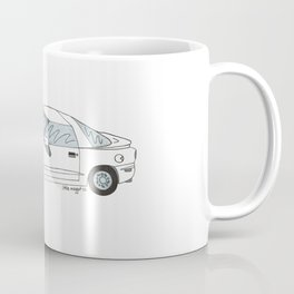 Flat Tire Firebird Coffee Mug