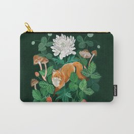 Strawberry Fox Carry-All Pouch