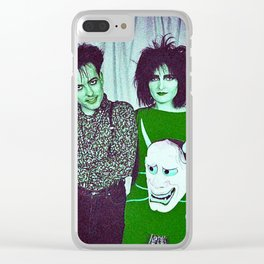 Siouxsie Found Her Banshee Cure Clear iPhone Case