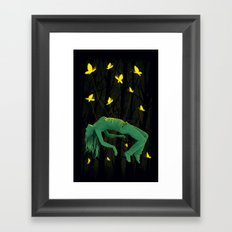 In Deep Sleep Framed Art Print