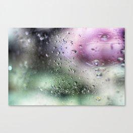 Rainy days - Colour Canvas Print