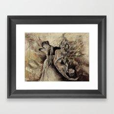 freudian dream Framed Art Print