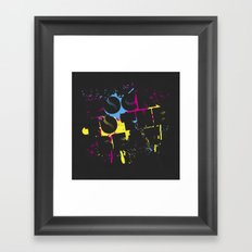 Rock To The Beat Framed Art Print