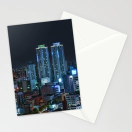 Daegu at Night Stationery Cards