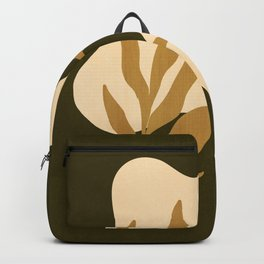 Modern Botanical Backpack