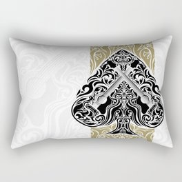 Resonate Bridge | Ace of Spades Rectangular Pillow