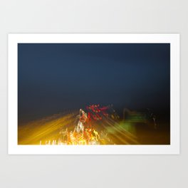 Freeway Art Print