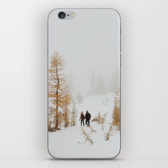 Walking in Larch Land iPhone & iPod Skin
