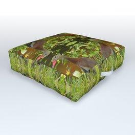 Whistling Duck Outdoor Floor Cushion