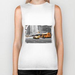 New York Streets Biker Tank