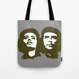 Che Guevara and the woman he loved Tote Bag