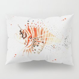 Lionfish in Ink Pillow Sham