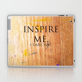 I Dare You. Laptop & iPad Skin