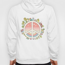 peaceful bright Pacific planet Hoody