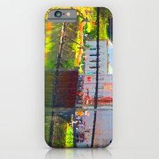 Pointillism: Snoqualmie Falls iPhone 6s Slim Case