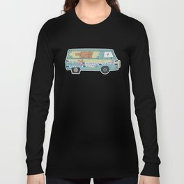 Busted: Mystery Machine Long Sleeve T-shirt