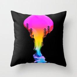 Exploring Worlds Throw Pillow