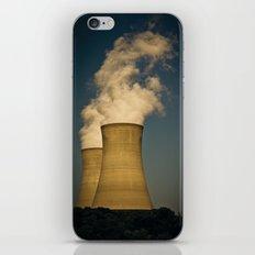 Toxic Towers iPhone Skin