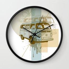 Camioneta Wall Clock
