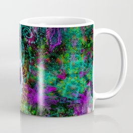 Party Outside The Box (psychedelic, visionary) Coffee Mug