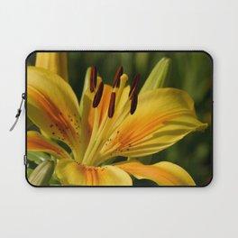 Beautiful Yellow Lily Laptop Sleeve