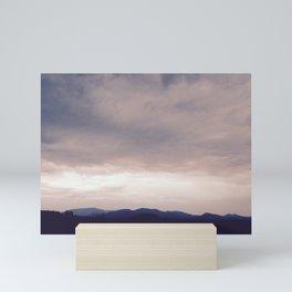 Misty Mountains Cold Mini Art Print