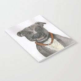Mongrel Black Dog Notebook