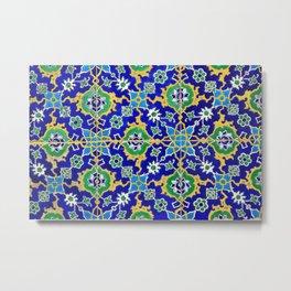 Arabesque pattern design  Metal Print