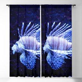 Sea World Lion Fish Blackout Curtain