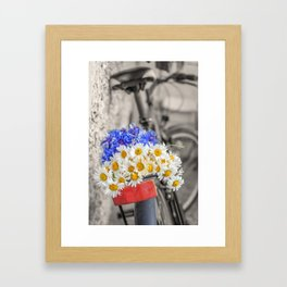 From the field Framed Art Print