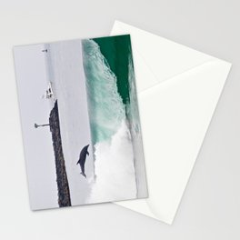 Dolphin Jumping @ Wedge Newport Beach Stationery Cards